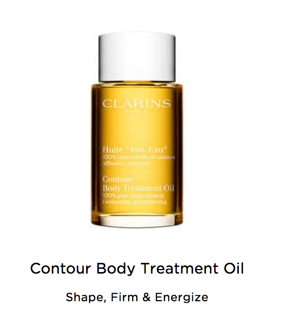Clarins contour body oil