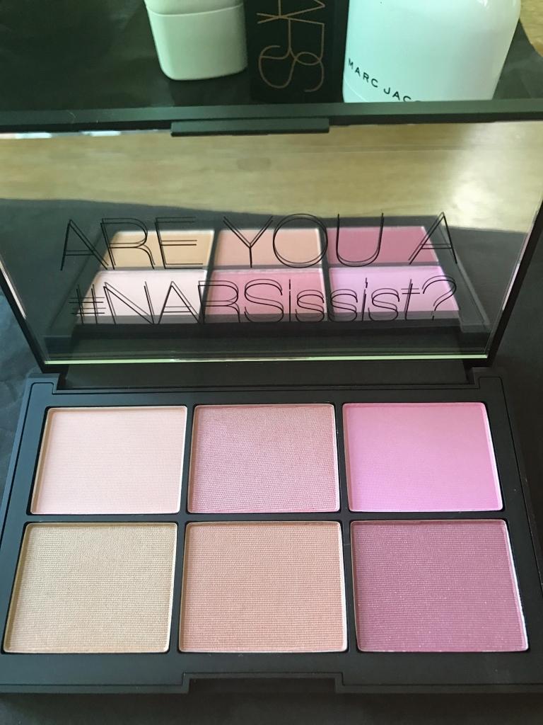 NARS blusher palette